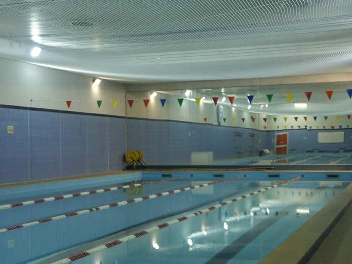Controsoffitto piscina case history - Rete pallavolo piscina ...