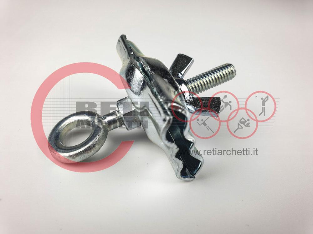 Morsetto STANDARD per verghette in acciaio – art. P 4